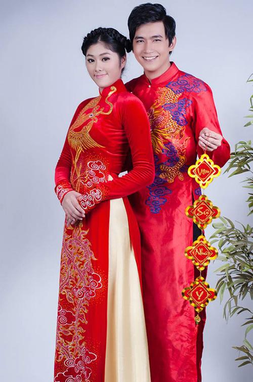 Áo dài độc đáo cho chú rể ngày cưới