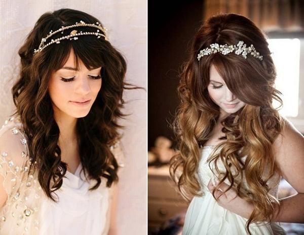 Kiểu tóc cô dâu đẹp tự nhiên 03