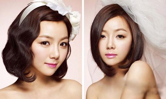 Kiểu tóc cô dâu đẹp tự nhiên 04
