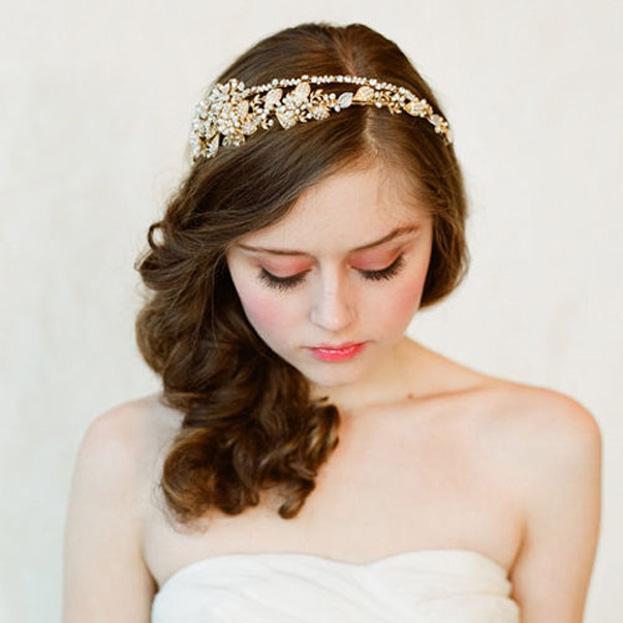 Phụ kiện cho tóc cô dâu 02
