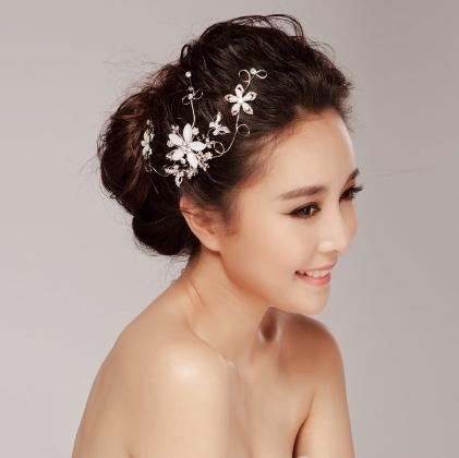 Phụ kiện cho tóc cô dâu 08