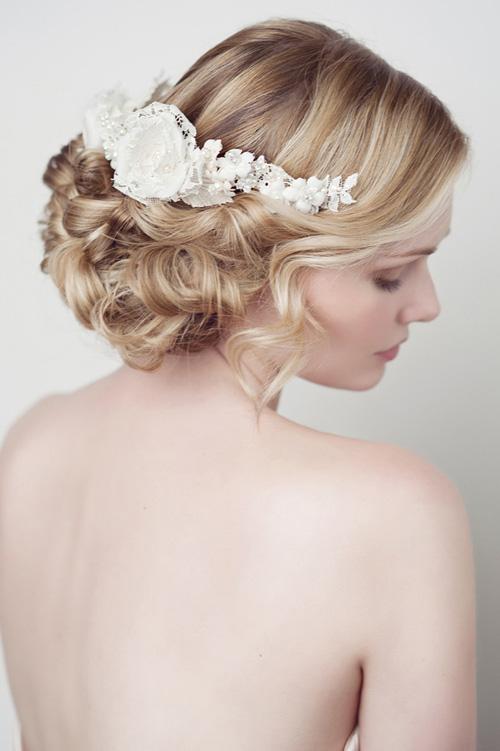Phụ kiện cho mái tóc cô dâu 01