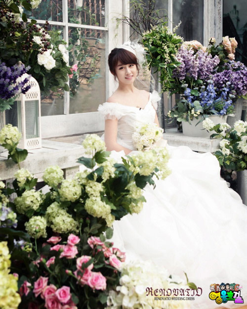 Kiểu tóc cô dâu hàn quốc 01