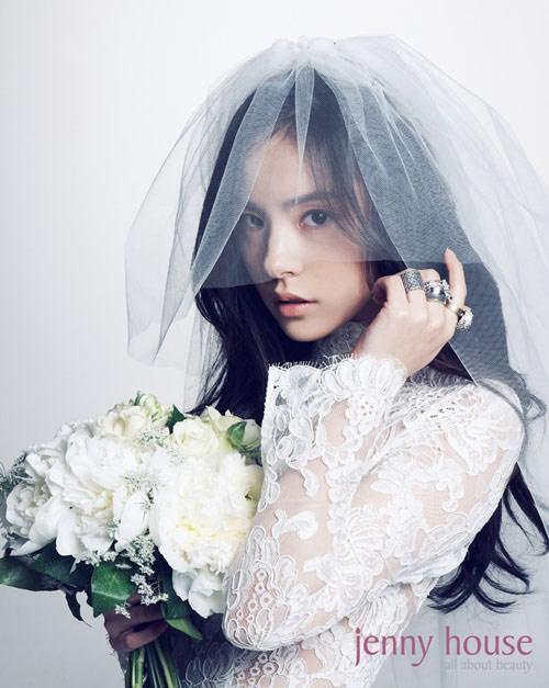 Kiểu tóc cô dâu hàn quốc 09
