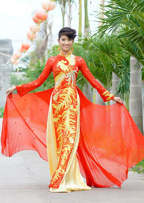 áo dài cưới 01