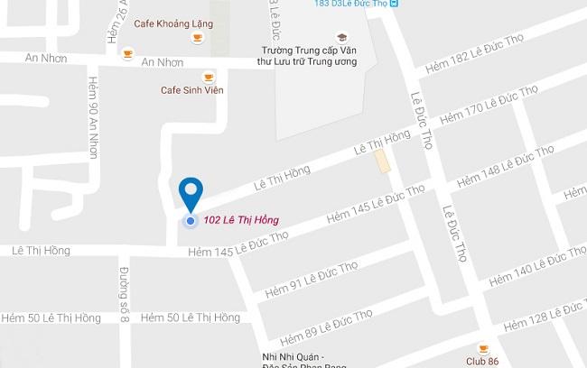 Địa chỉ cửa hàng áo dài Hạnh đường Lê Thị Hồng – Gò Vấp