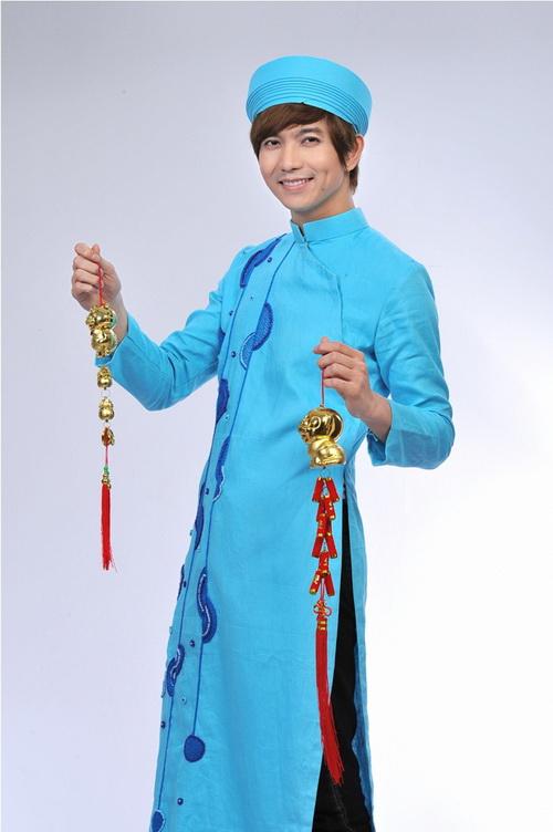 áo dài nam 02