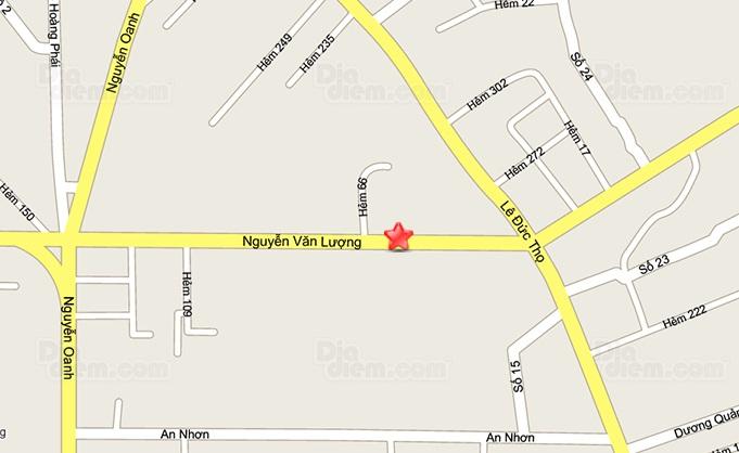 Bản đồ cửa hàng Gò Vấp