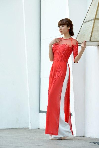 bí quyết chọn áo dài cưới đẹp