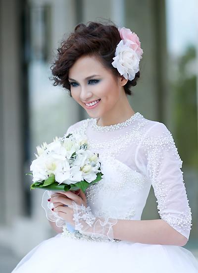cô dâu tóc ngắn 2