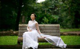 Áo dài cưới phong cách hoàng gia 04