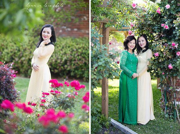 Áo dài mặc tết cho các mẹ 05