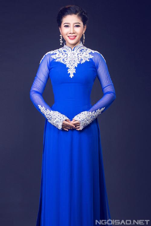 AÁo dài xanh dương cho cô dâu 05