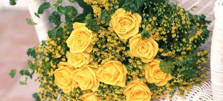 Hoa cưới cho cô dâu mùa xuân