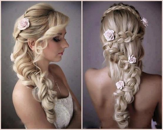 Kiểu tóc xoăn cho cô dâu 07