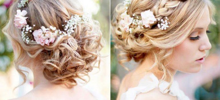 Kiểu tóc xoăn cho cô dâu 08