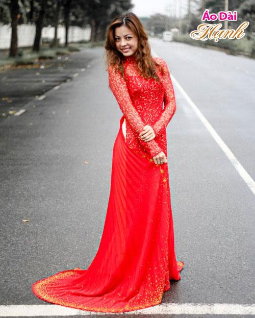 Áo dài cưới cho cô dâu