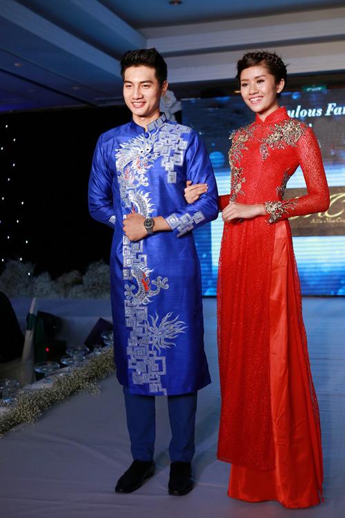 Chọn áo dài đẹp cho cô dâu chú rể 10