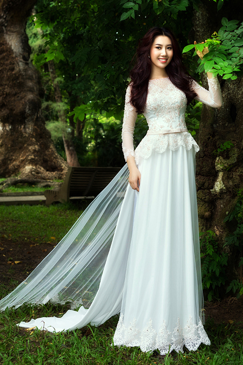 Chọn áo dài cưới theo cung sao 12