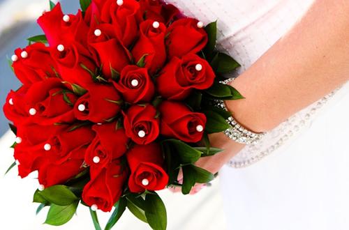 Hoa hồng cưới cầm tay 02