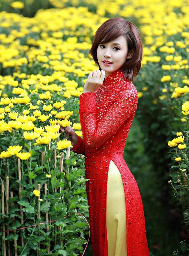 áo dài xuân 12