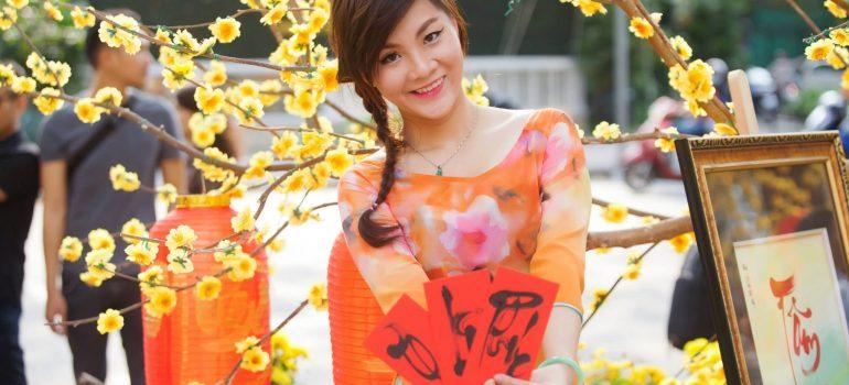 áo dài xuân 5