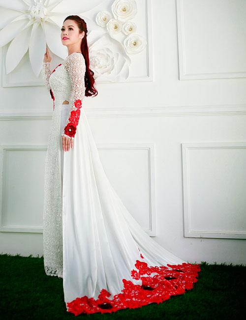 Áo dài cưới hiện đại 08