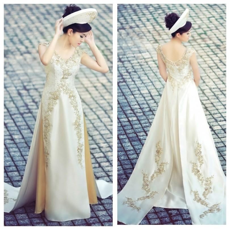Chọn áo dài cưới theo cung sao 13