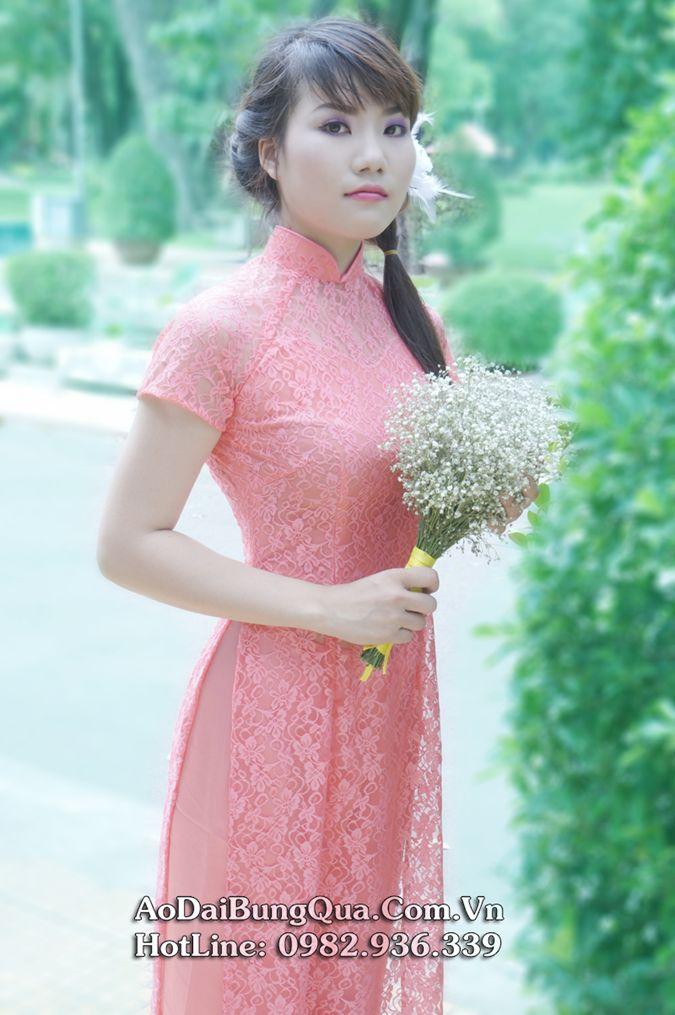 Áo dài cưới đa sắc màu 04