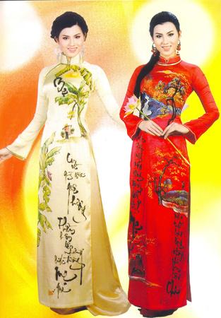 Khéo che khéo khoe với áo dài Hạnh 04