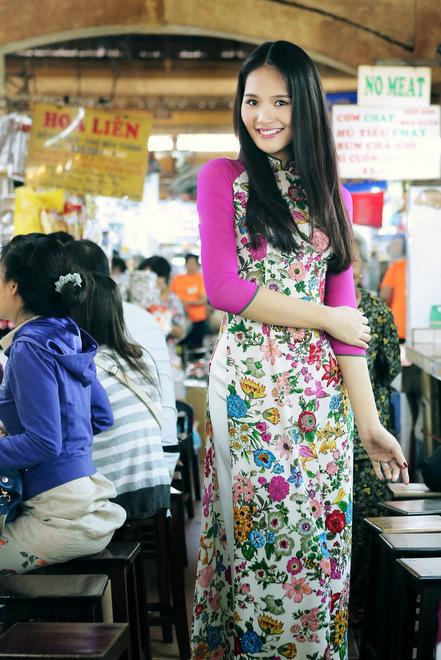 Khéo che khéo khoe với áo dài Hạnh 06