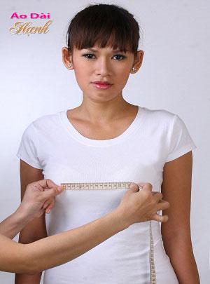 Hướng dẫn lấy số đo áo dài 10