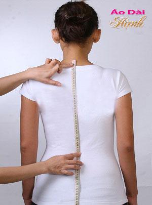 Hướng dẫn lấy số đo áo dài 16