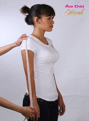 Hướng dẫn lấy số đo áo dài 24
