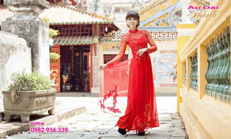 May áo dài cưới TPHCM