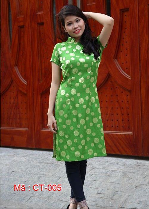 Áo dài cách tân tà ngắn mẫu số 5