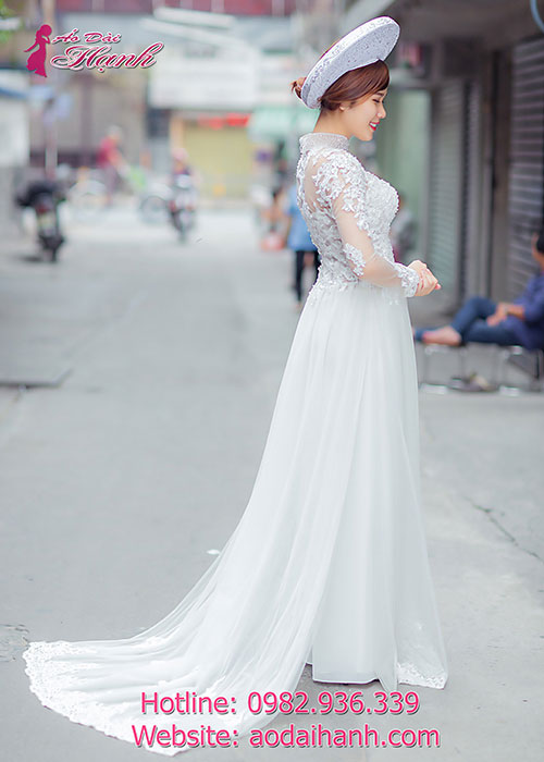 Dịch vụ cho thuê áo dài cô dâu 01