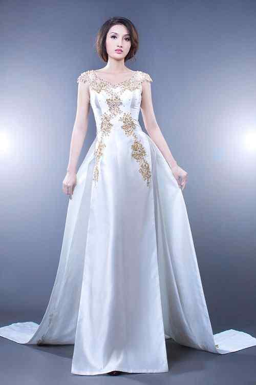 áo dài ngày cưới snag trọng