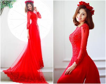 áo dài ngày cưới giá rẻ tphcm