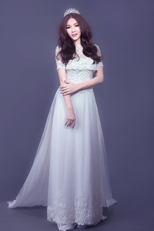 áo dài màu trắng đẹp nhất