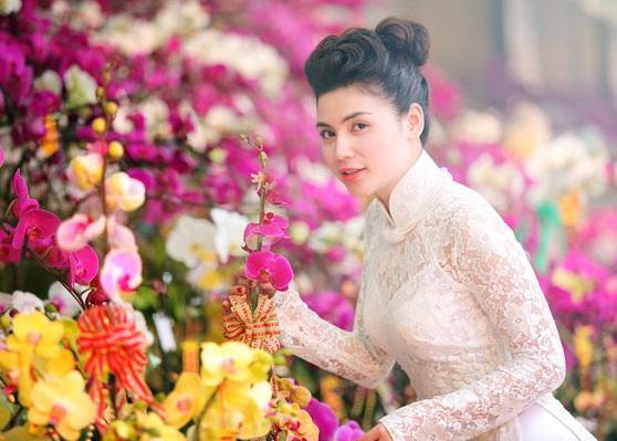 áo dài cô dâu ren màu trắng don gian