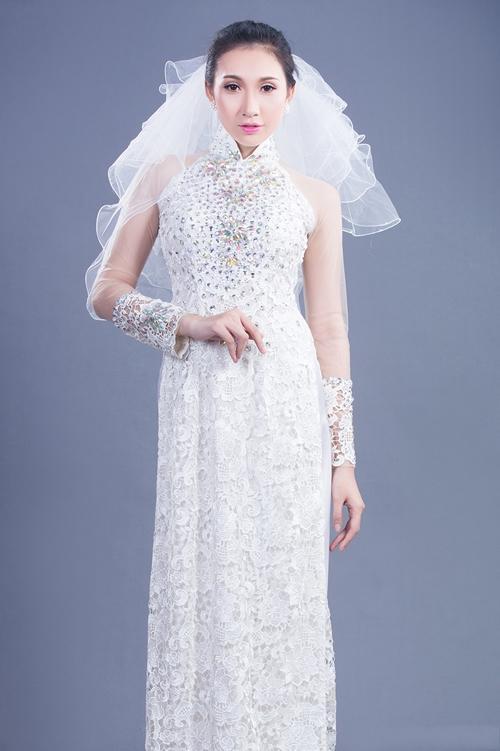 có nên mặc áo dài trong lễ cưới màu trắng