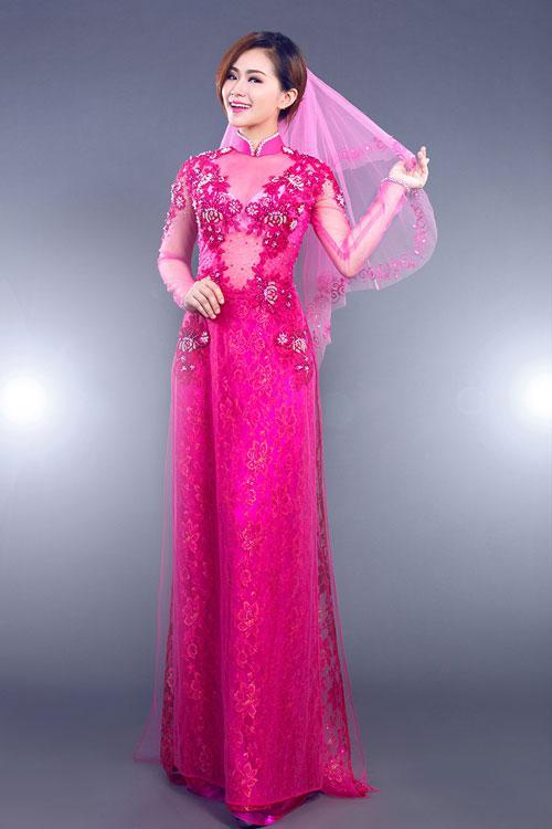 may áo dài cô dâu bao nhiêu tiền