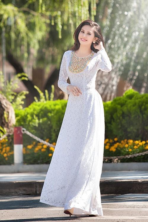 may áo dài cho cô dâu