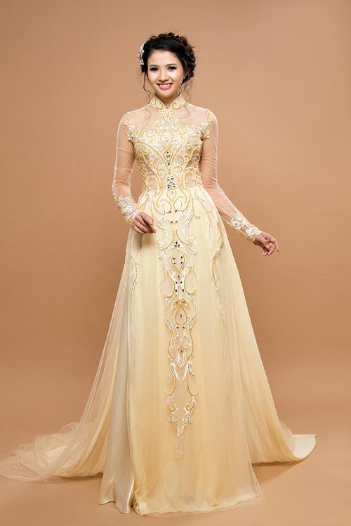 may áo dài tiệc cưới giá rẻ