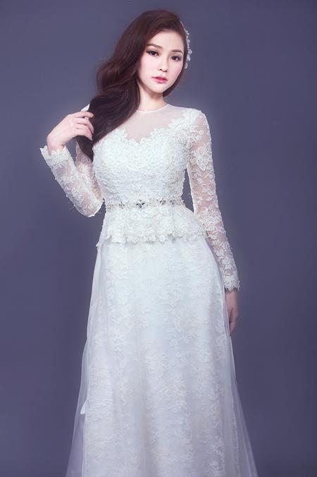 vải áo dài màu trắng
